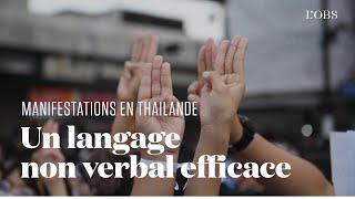 Comment les manifestants thaïlandais prodémocratie s'inspirent de ceux de Hong Kong