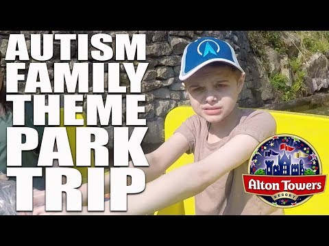 CBEEBIES LAND AT ALTON TOWERS | AUTISM FAMILY DAY OUT & VLOG