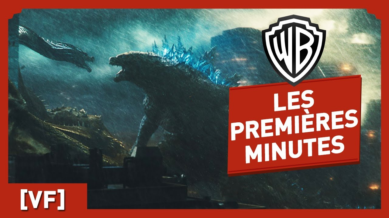 Godzilla II - Roi des Monstres - Les premières minutes du film !