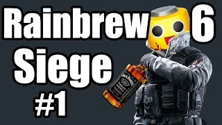 """Rainbow 6 Siege - Drunk Funny Moments Ep. 1 - """"Sneezing Strokes"""" (R6S Gameplay)"""