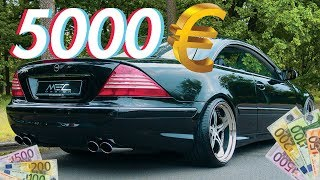 Die besten Autos für unter 5000€ | RB Engineering | Mercedes Benz C215 CL 500
