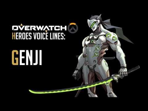 Overwatch - Genji All Voice Lines