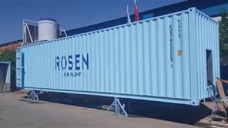 Ice plant with Rake Storage Unit