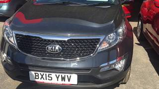 Review Of A Kia Sportage 2 ISG CRDI
