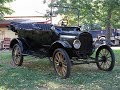 Starting a 1917 Ford Model T with the Crank