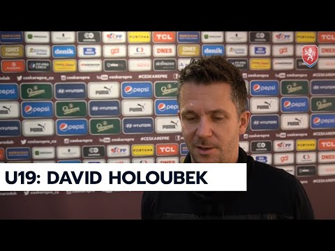 ČR U19 | Trenér David Holoubek po losu základní fáze kvalifikace ME 2022