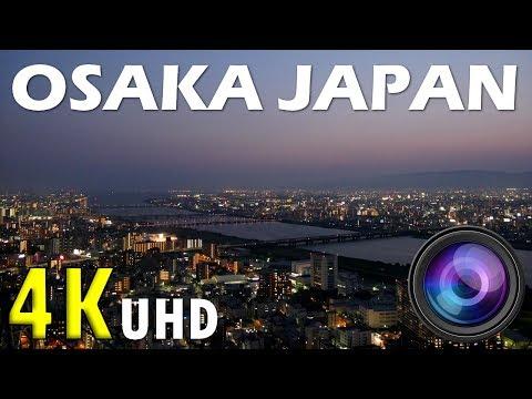 KANSAI OSAKA BY NIGHT - JAPAN SKYLINE 4K (UHD)