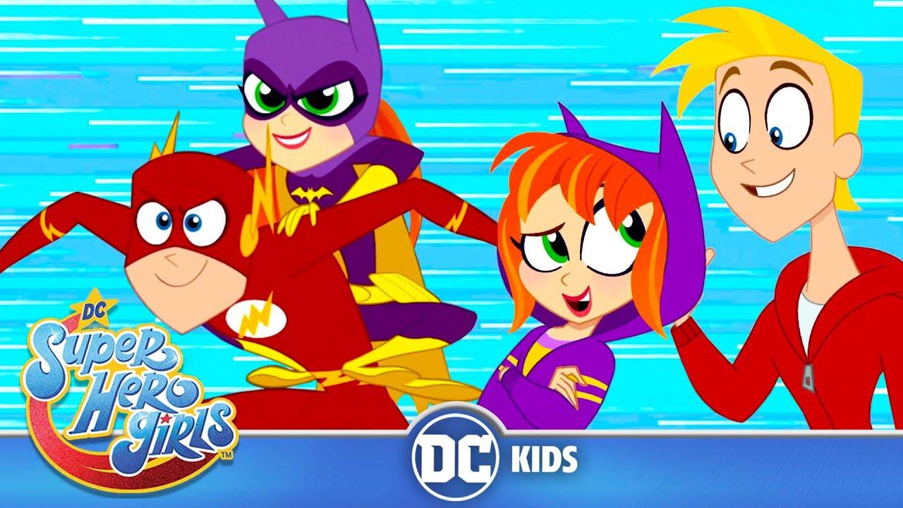 DC Super Hero Girls | Best Batgirl and The Flash Moments! | @DC Kids