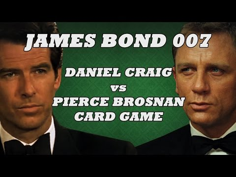 James Bond 007: Craig v Brosnan Card Game!