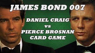 James Bond 007: Craig V Brosnan Card Game!