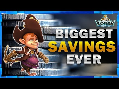 HOW TO SAVE A LOT OF MONEY BUYING PACKS IN LORDS MOBILE - MISTER BP GAMING