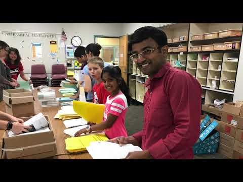 2018 Inglewood Middle School -  Business Days Volunteers taj v291