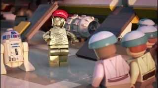 Lego Star Wars ,  La Menace Padawan [ film en vf ]