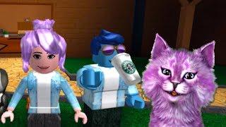 ПРОИГРАЛА ЛЕО В РОБЛОКС мини-игры roblox Epic Minigames КОШКА ЛАНА играет детский летсплей