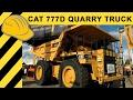 Caterpillar 777D Muldenkipper Quarry Truck Walkaround - CAT Mining Truck