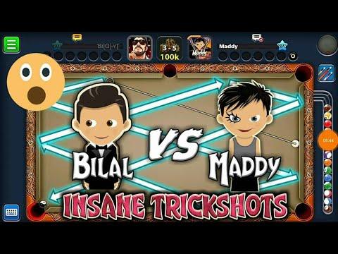 8BP-Bilal VS Maddy badshah| Indirect highlight| Insane trickshots..