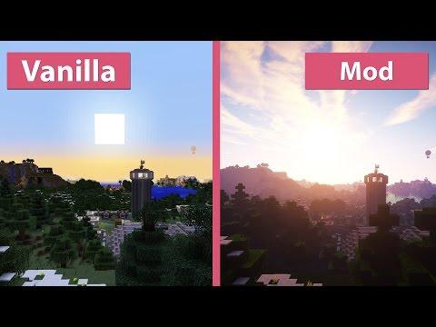 minecraft-–-s&k-photo-realism-+-seus-graphics-mod-vs.-vanilla-comparison-[fullhd][60fps]