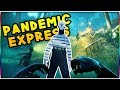 INSANE ZOMBIE SURVIVAL GAME! - Pandemic Express Gameplay - Can You Survive?