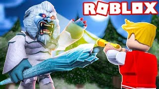 ABOMINABLE SNOWMAN APPEARED IN ROBLOX!