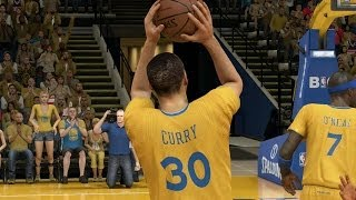 Steph Curry Cheezin' - NBA 2K14 100 Point Challenge