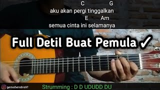 Chord CINTA YANG SEMPURNA - Kangen Band | Mudah Untuk Pemula