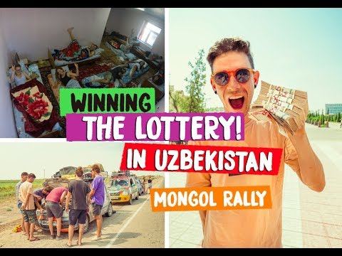 WHAT DOES UZBEKISTAN LOOK LIKE?! - MONGOL RALLY 2018