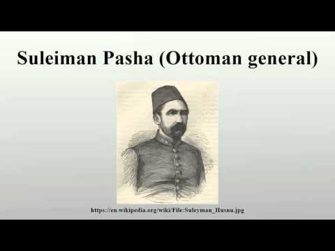 Suleiman Pasha (Ottoman general)