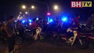 1,000 penunggang tolak motosikal 5km
