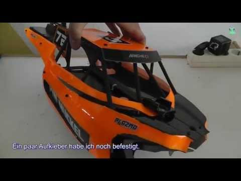 Lexan body self build & paint selfmade - RC Adventure HPI Buggy Apache C1 - 동영상