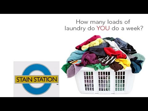 STAIN STATION   Easily Remove Stubborn Stains Now!   Fabulous Laundry Tool