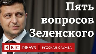 Каннабис, коррупция и меморандум. Зачем Зеленский проводит опрос украинцев?