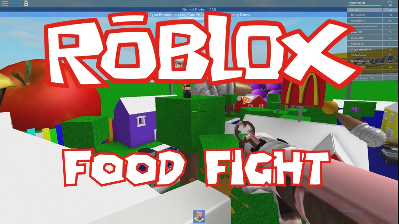 Roblox Food Fight Youtube
