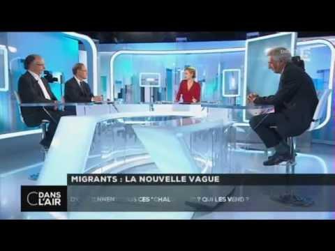 C dans l'air - Migrants : la nouvelle vague 21/04/15