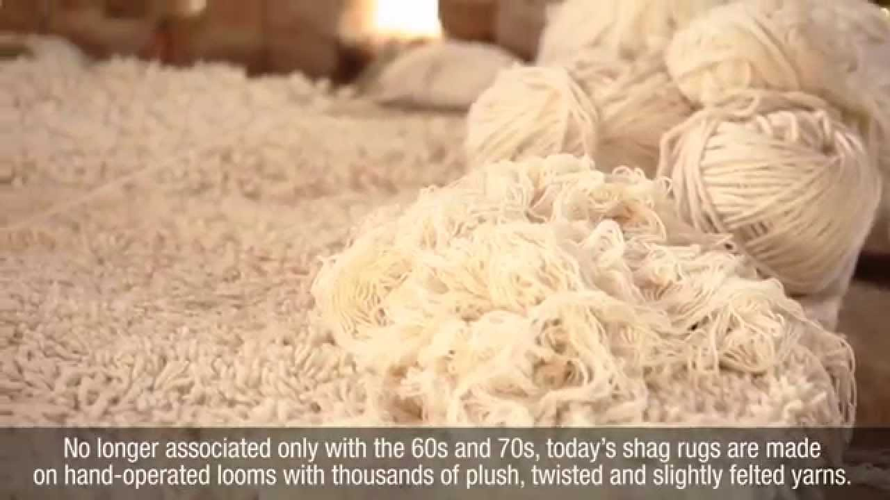 Hand Loomed Shag Rugs Youtube