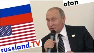 Putin zu US-Drohungen auf deutsch