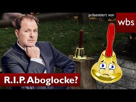 Die Vernichtung der Abo-Glocke - Silvester Spezial | Rechtsanwalt Solmecke
