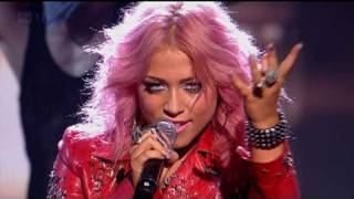 Amelia Lily rocks Billie Jean - The X Factor 2011 Live Show 1 (Full Version)