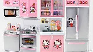Кухня Hello Kitty.  Kitchen Hello Kitty