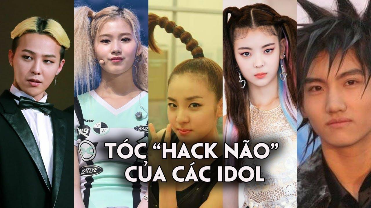 Những kiểu tóc hack não của loạt Idol Kpop khiến fan ngã ngửa