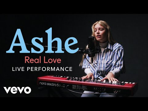 Ashe - Ashe - Real Love Live Performance | Vevo