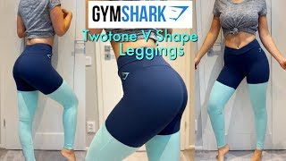Gymshark Twotone Leggings Review & Try on | Surprise Sunday