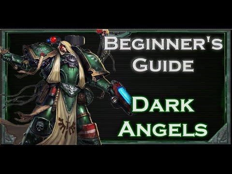 Beginners Guide To Warhammer 40k Tabletop Dark Angels