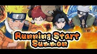 Naruto Shippuden Ultimate Ninja Blazing Running Start Summon!!!