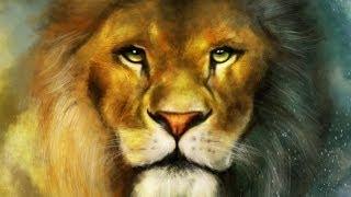 켄쉬kensh) ipad procreate speed paniting -The Chronicles Of Narnia- lion