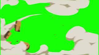 Green Screen - Bulutlu Geçiş Efekti