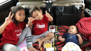 Mendadak TASIKMALAYA 😍🎉 Wow Mobilnya jadi Kamar nyaman untuk Bayi Lucu Sakura dan Kakak Zara Kenzo