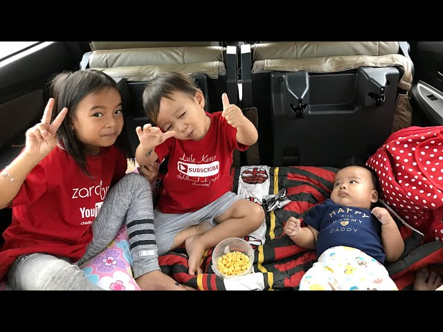 Mendadak TASIKMALAYA ???????? Wow Mobilnya jadi Kamar nyaman untuk Bayi Lucu Sakura dan Kakak Zara Kenzo