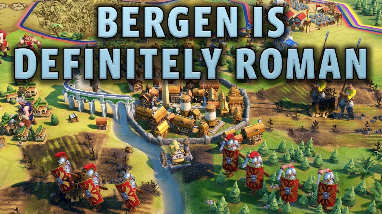 Bergen is Definitely a Roman City - Civilization 6 Gathering Storm Deity  Part 7