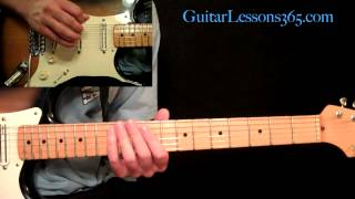 Still Of The Night Guitar Lesson Pt.4 - Whitesnake - Guitar Solo Section