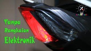 Cara Membuat Lampu Rem Berkedip lalu Manteng. (How to make brake lights ferrari).